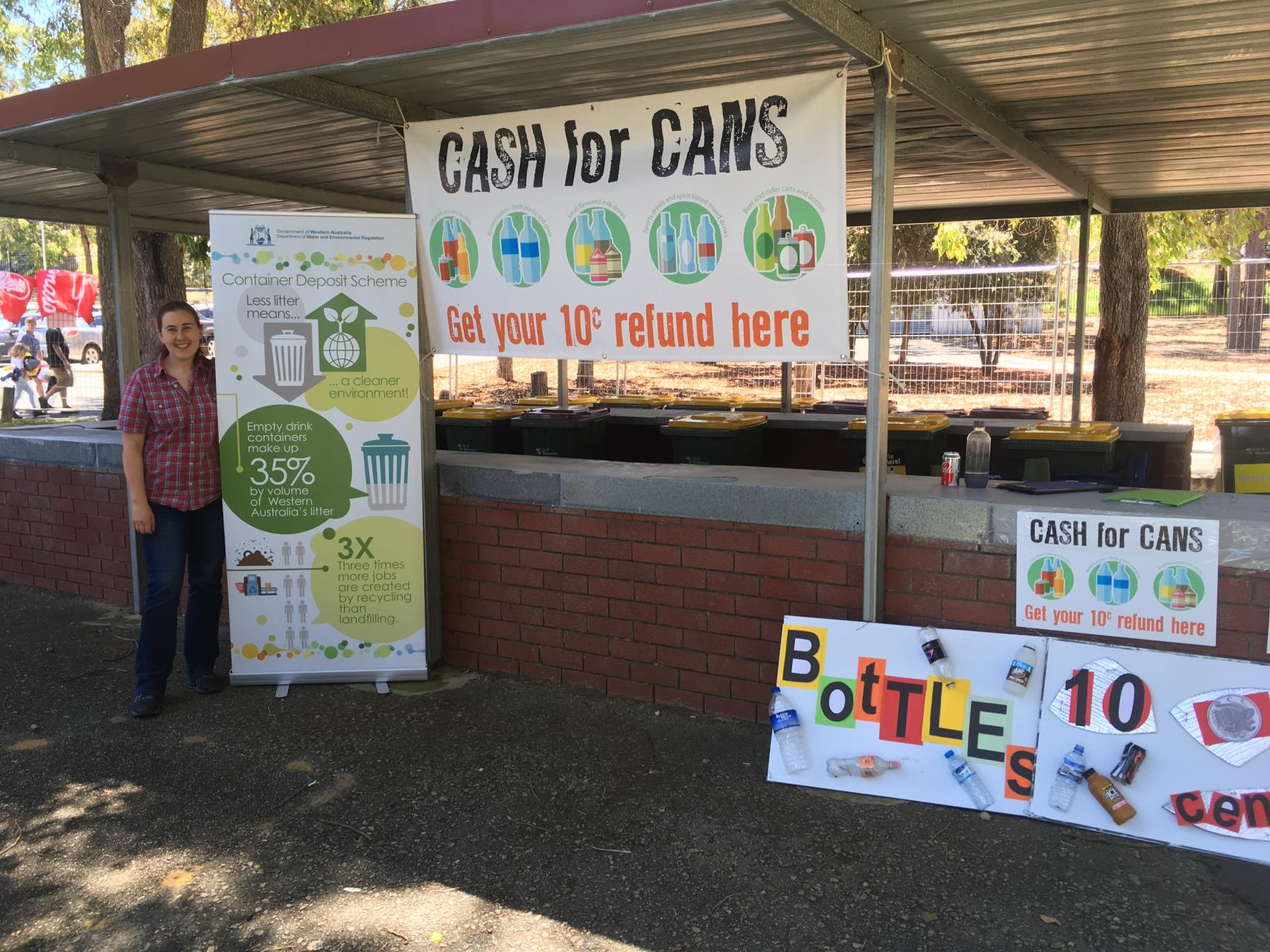 Container Deposit Scheme at Community Events EOI